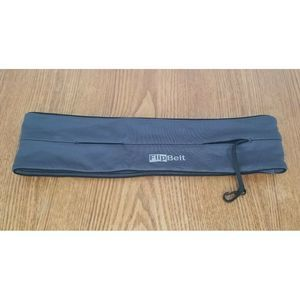 FlipBelt Running Exercise Belt Gray Size Medium